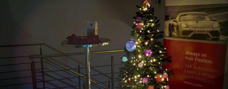MSA SAP Consulting Tannenbaum Weihnachtsbaun Weihnachten 2020